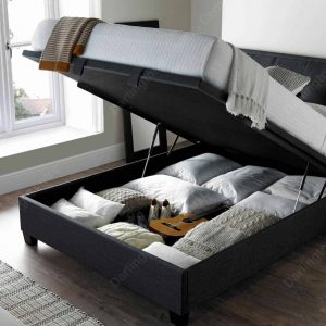 Accent_Ottoman_slate_Bed_open