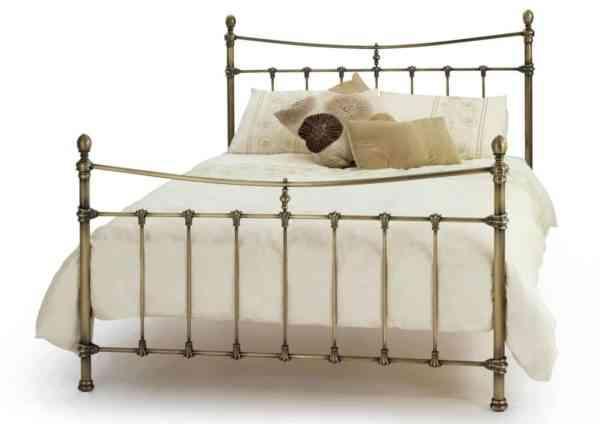 Olivia-Antique-Brass-Bedstead