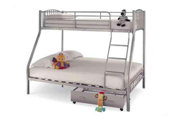 Oslo-silver-tripple-sleeper-bunk