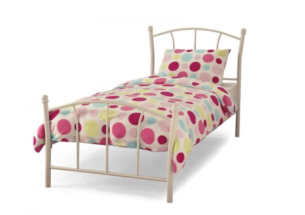 Penny-White-Single-Bed