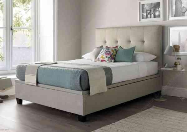 Walkworth_Oatmeal_Upholstered_Bed