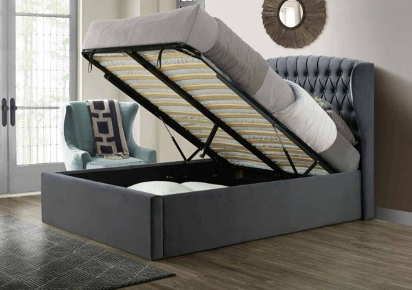 Warwick Bed Grey