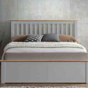 Malmo Grey Bedframe